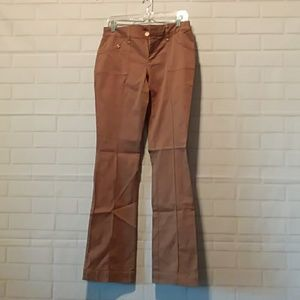 Cache brown stretch pants 4